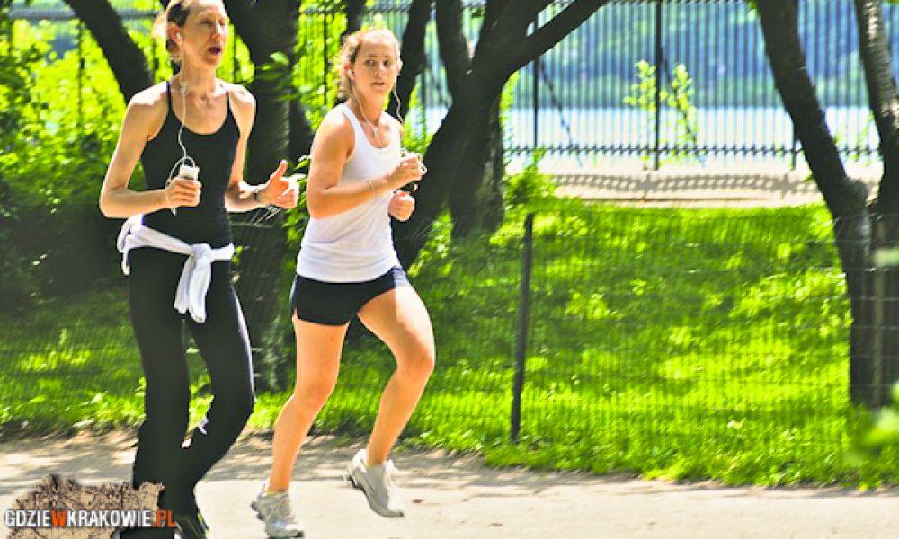 Jogging w Krakowie, wykaz oraz ranking miejsc